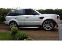 "2005 RANGE ROVER SPORT TDV6 SE.22"" WHEELS, SIDE STEPS, HEADLAMP CONVERSION,ONE FORMER KEEPER, X5."