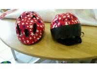 Children's uni-sex bike helmets