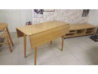 Drop Leaf Vintage Kitchen / Dining Table