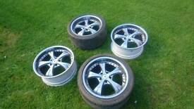 18 inch alloy wheels from Skyline