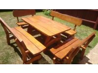 Unique Garden furniture, swings, rocking chairs, armchairs, etc