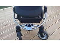 Icandy apple 2 pear double twin pram