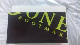 Mens Formal Black Jeff Banks Leather Shoes for Sale