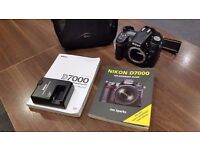 Nikon D7000 Digital SLR Camera Body Only (16.2MP) 3 inch LCD - Collection Only.