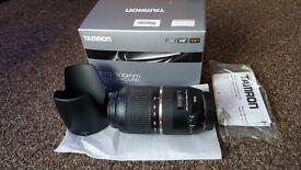Tamron SP 70-300mm F/4.0-5.6 Di VC USD Lens For Canon