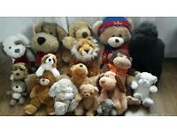 Huge Cuddly Toys job lot Xmas gifts