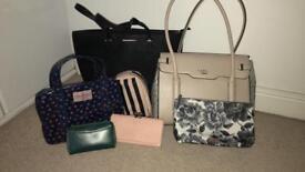Various bags/purses/make-up bags