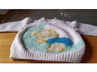 Kids hand knits
