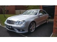 Mercedes CLK-Class 320cdi SPORT Auto - Very high spec - Heated elec leather bluetooth - Diesel 50mpg