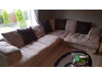 Corner sofa for sale. Great condition