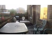Large Bright Twin Room Share Avail Now in Fulham