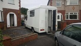 Ford Transit Motor home. Converted ambulance. Low mileage. Good condition.