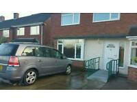 Semi detached 3 bedroom house in Stockton-on-Tees swap any area