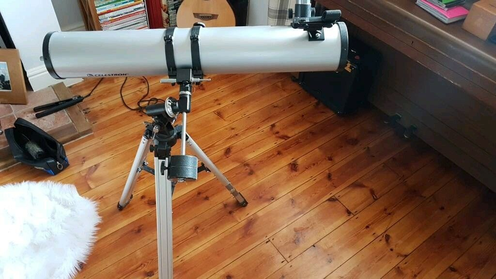 Celestron powerseeker eq reflector telescope magnification