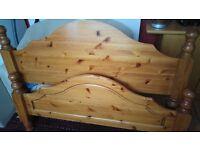 framed bed for free