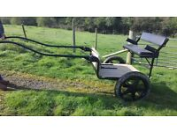 Hillam pony horse exercise cart suit up to 15hh Very good condition