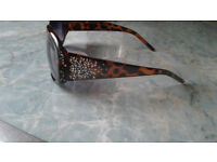 Genuine Ladies Sunglasses with Swarovski Crystals