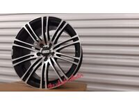 """K11* NEW 18"""" INCH ALLOYS ALLOY WHEELS BLACK 5X108 FORD FOCUS ST MONDEO KUGA TRANSIT CONNECT"""
