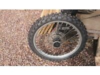 Crf450 front wheel
