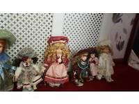 Porerline dolls