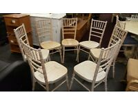 set of 6 dinning chairs for sale