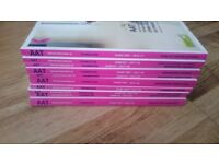 AAT Kaplan study and exam books
