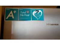 Hisense FV306N4BC1 Frost Free Upright Freezer - Stainless Steel Effect - A+ Rated