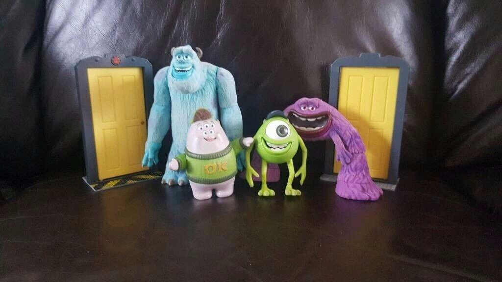 Monsters Inc figures