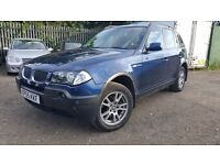 BMW X3 2.0 d SE 5dr, FSH, HPI CLEAR, 2 KEYS, WARRANTED MILEAGE, 1 YEAR MOT , P/X WELCOME