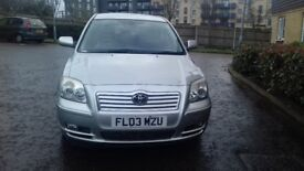 Here is a lovely 2003 Toyota Avensis T3 VVT-I Auto.