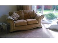 3 piece lounge suite, 3 seater, 2 seater and chair.