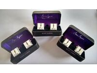 Wedding day cufflinks - Brand new! Available for Groom, Father of the Groom and Father of the Bride.