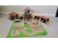 Early learning centre wooden farm set