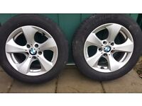 "BMW 16"" alloy wheels with Michelin tyres"