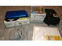 Blue Nintendo 3ds xl bundle with games. Exc condition