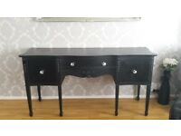 Black sideboard shabby chic