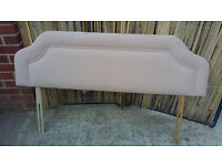 light peach headboard for double bed
