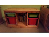 Kids storage unit. From Ikea