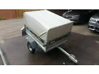 Daxara 127 tipping trailer + extension kit/spare wheel