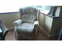 Chairs - Two Reclining manually operated chairs