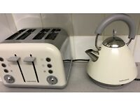 Morthy Richards kettle and toaster - cream