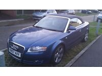 SWAP OR SELL! 2007 AUDI CONVERTIBLE 3.2 SLINE QUATTRO TIPTRONIC