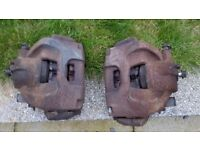 Saab 9-3 Brake Calipers Front Rear Left Right Set 02-07