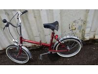 BIKE SOVERIGN VINTAGE FOLDING BIKE STURMEY ARCHER 3 GEARS 20 INCH WHEEL AVAILABLE FOR SALE