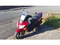 Great condition 125 scooter fully serviced low milage