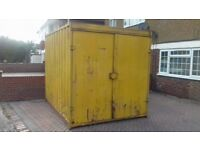 Storage/shipping container 10ft length x 8 ft width
