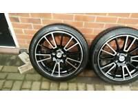 """Fox R3 Alloys 17"""" with tyres 4x108"""