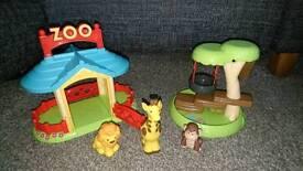 HappyLand Zoo Set