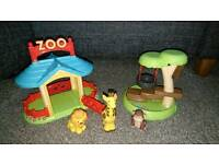 HappyLand Zoo Set