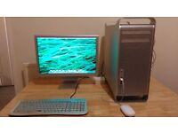 """Mac Pro QUAD CORE 2.66GHz, 12GB RAM, 1TB HDD, GeForce 7300GT, Wi-Fi, Bluetooth, DVD RW + 20"""" monitor"""